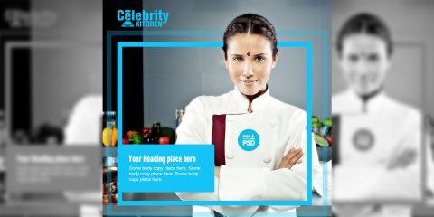 Celebrity Kitchen, Social Post, Social media, Post, Facebook post, twitter post, instagram post, chef