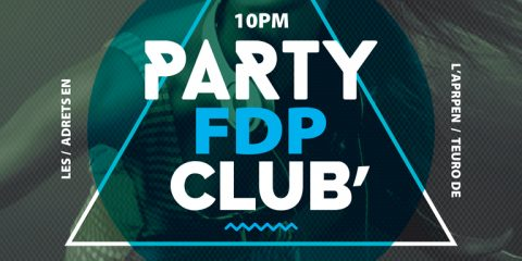 Club Party Free Flyer and Poster Template