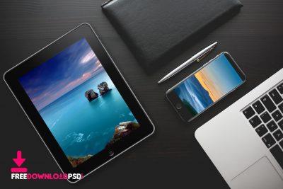 The best iPad pro mockup free psd