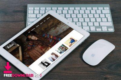 Free ipad Mockup PSD download