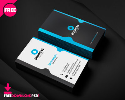 Free Corporate Business Card Template Download
