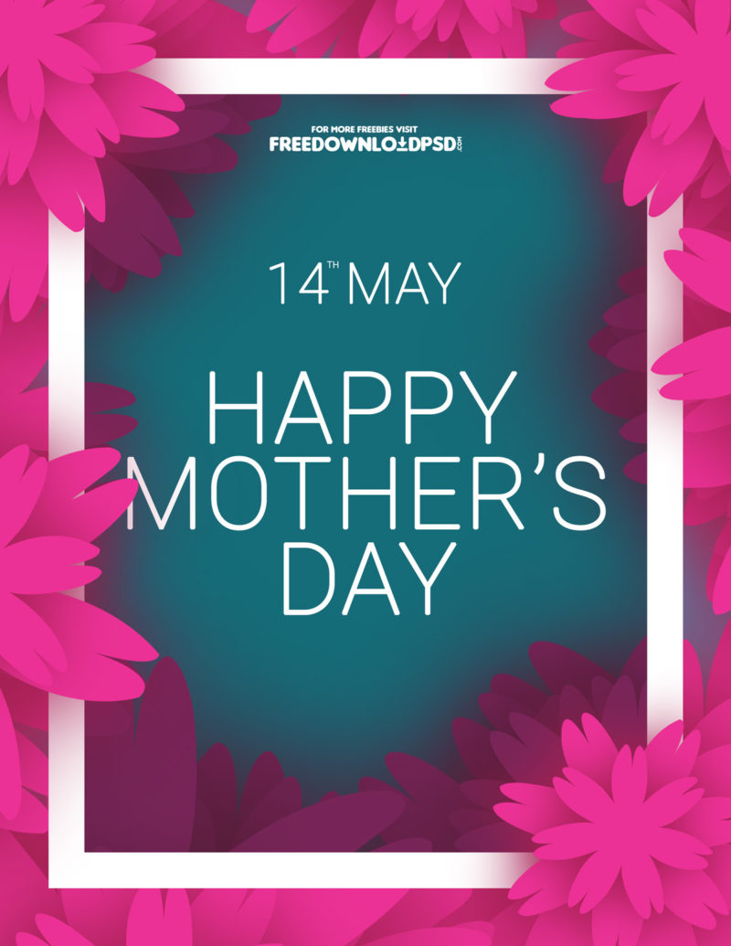 download mothers day colorful flyer freedownloadpsd com