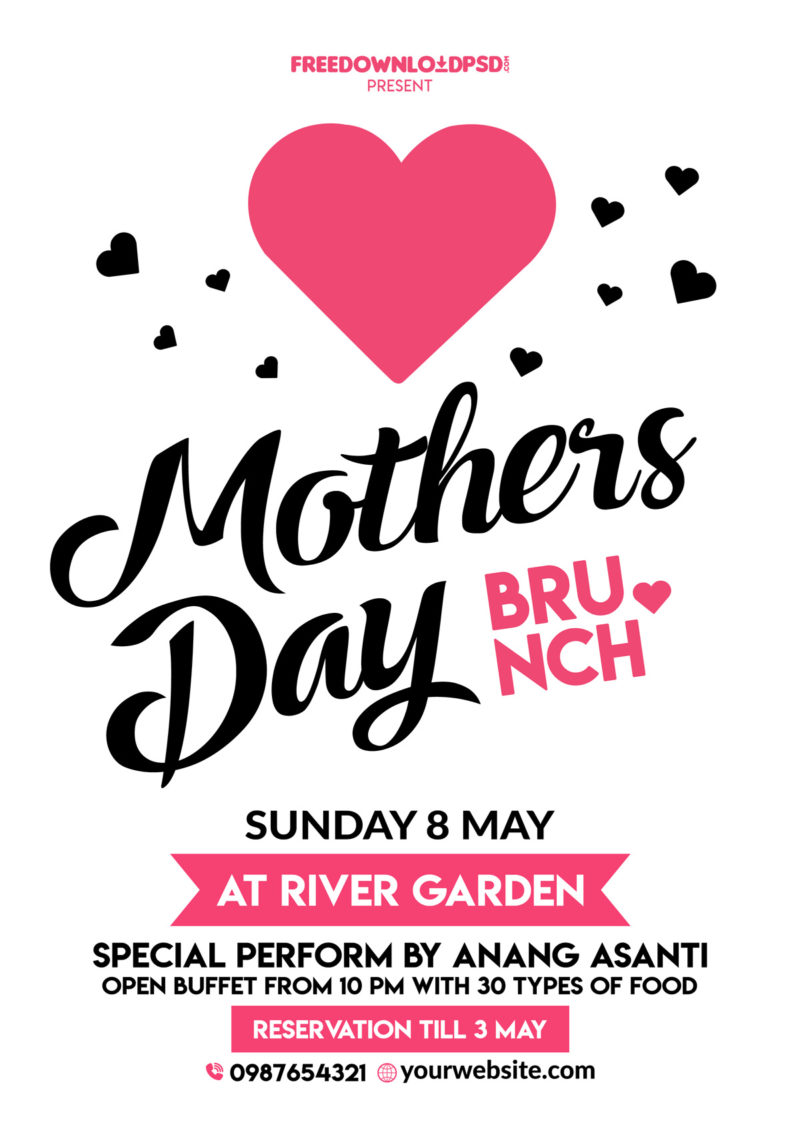 Free, Mother, Motheru0027s Day, Mothers Day, Mother Day, Mothers Day Flyer