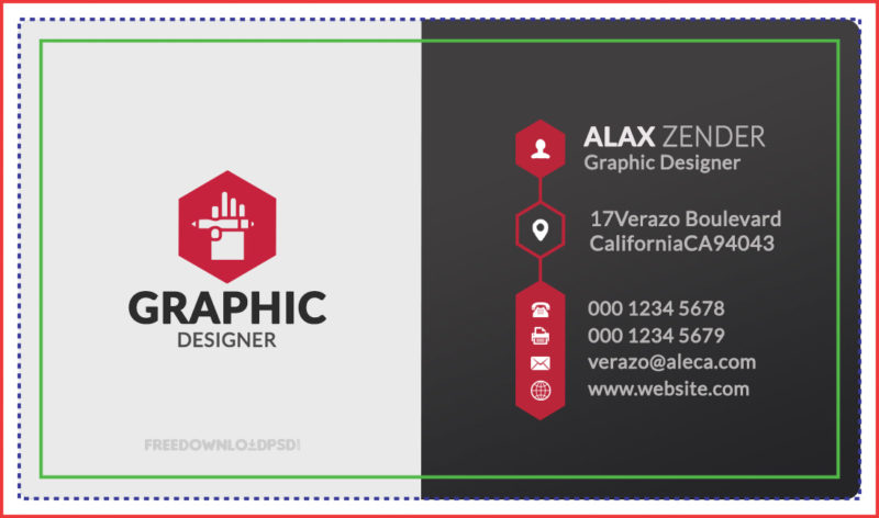 Free graphic designer business card freedownloadpsd graphic designer business card free download business card templates psd free download visiting card wajeb Image collections