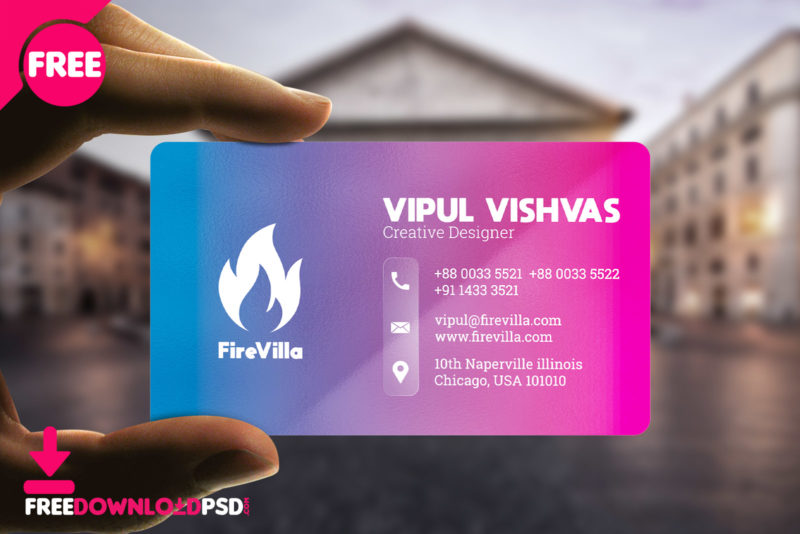 Creative business card templates psd freedownloadpsd flashek