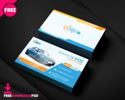 Free graphic designer business card freedownloadpsd automotive business card templates psd rent a car business card template free rent a fbccfo Gallery