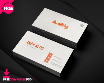 Clean modern business card template freedownloadpsd clean business card minimalist business card template free minimalist business card template psd accmission Images
