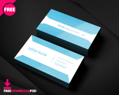 Freedownloadpsd premium quality free psd templates clean modern business card psd template reheart Choice Image
