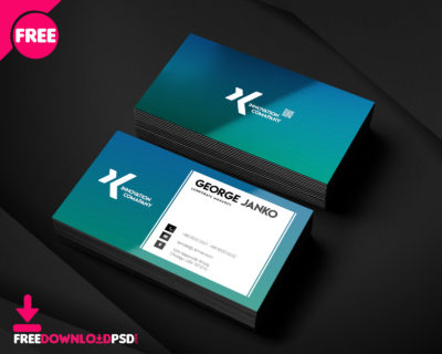 Free restaurant business card psd freedownloadpsd clean business card minimalist business card template free minimalist business card template psd reheart Choice Image