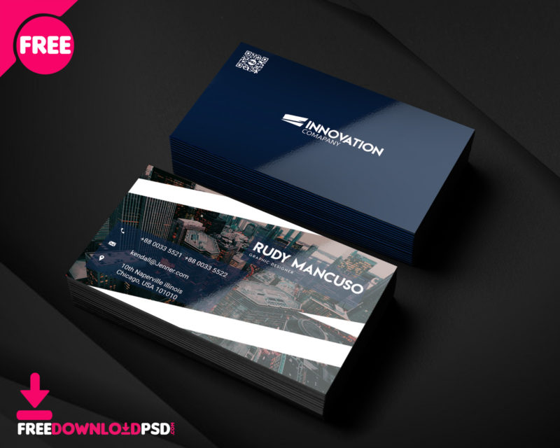 Designer business card psd template freedownloadpsd clean business card minimalist business card template free minimalist business card template psd wajeb