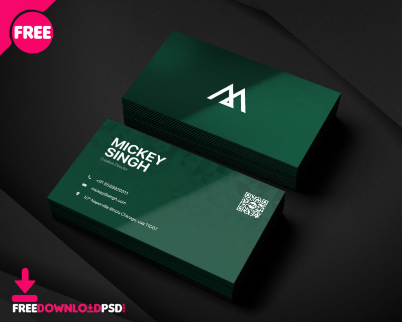 Company busisness card psd template freedownloadpsd clean business card minimalist business card template free minimalist business card template psd wajeb Gallery