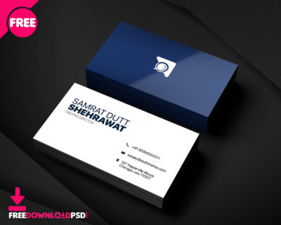 Free material design business cards psd freedownloadpsd clean business card minimalist business card template free minimalist business card template psd friedricerecipe Choice Image
