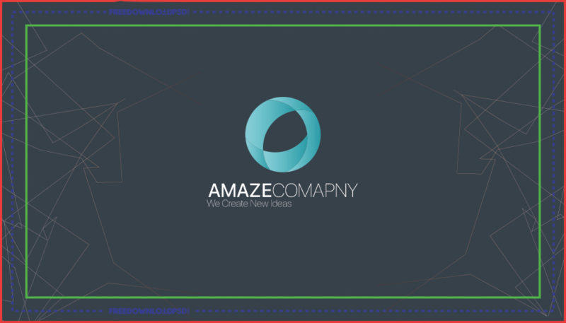 free simple business card psd template freedownloadpsd com