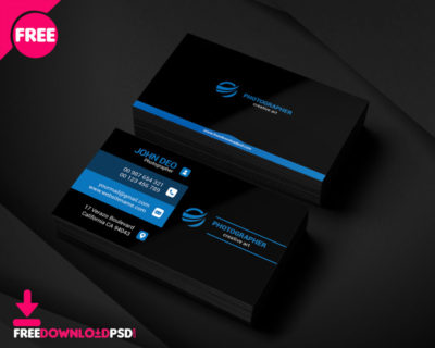 Free Restaurant Business Card Psd Freedownloadpsd