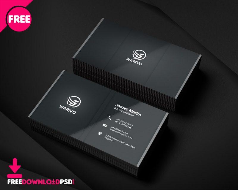 Graphic Design Business Card PSD Modern   FreedownloadPSD.com